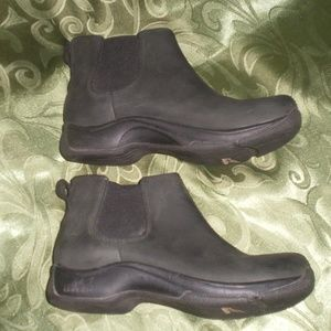 Dansko Black Oiled Leather Ankle Boots sz 37